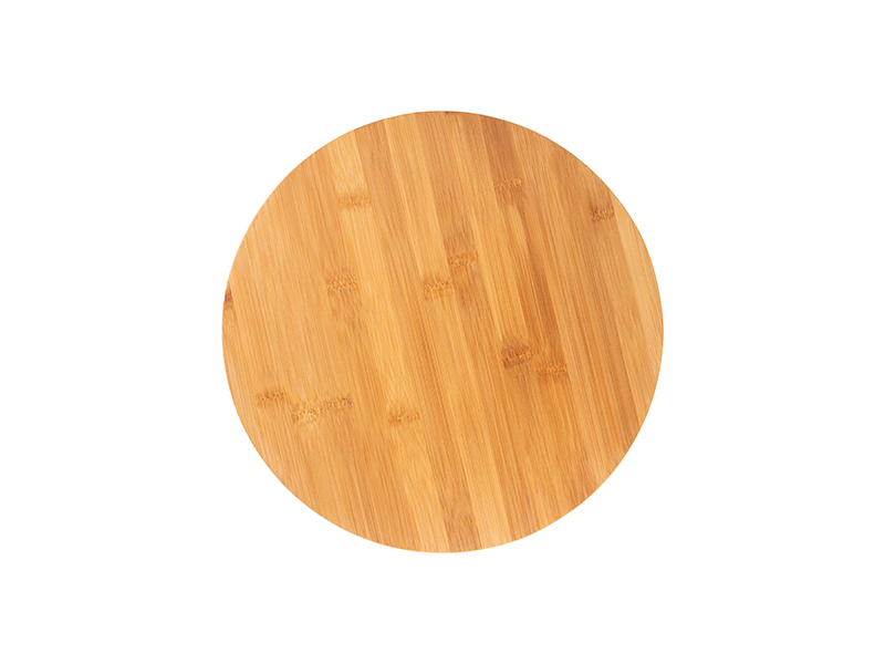 Round Bamboo Cutting Board Moq 1000pcs Free Sublimation